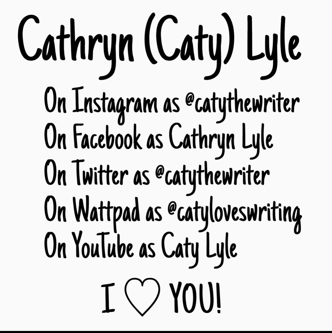 Cathryn  (Caty) Lyle's Blog